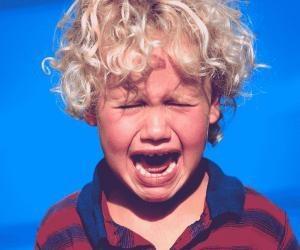 Kid Crying Lightbox